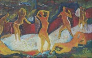 Lassota akt malarstwo