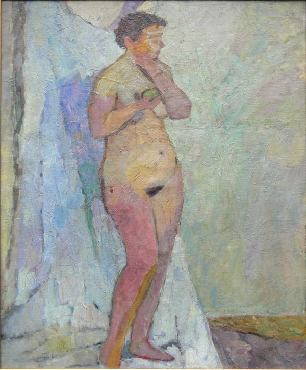 Akt Tadeusz Chyła, obraz olejny