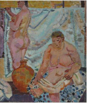 Zenon Kononowicz Akt, obraz olejny