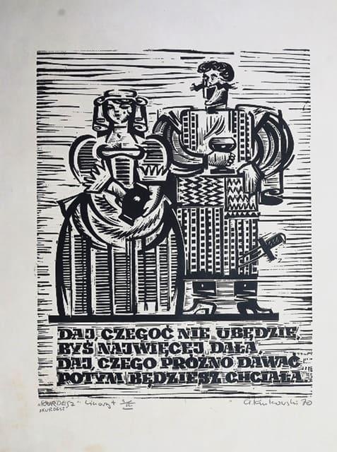 Andrzej Kurkowski linoryt