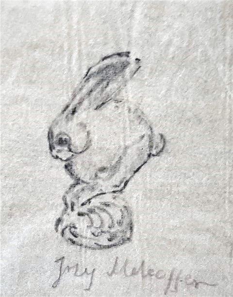 Jerzy Mehoffer rysunki