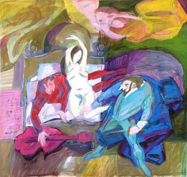 judaika gwasz aukcje sztuki rysunek