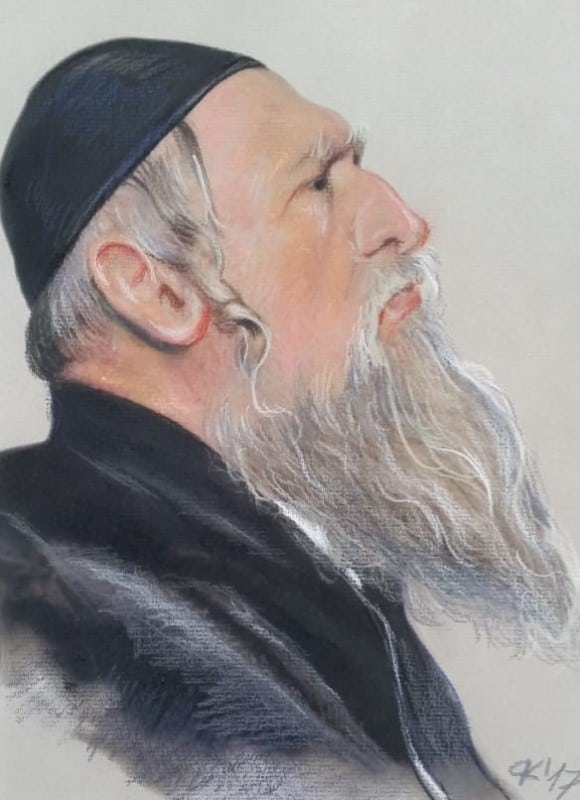 piotr kozera pasetla judaika głowa starego Żyda