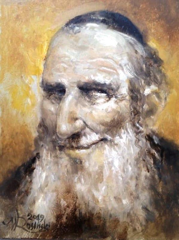 wojciech rosiniski portret zyda judaika