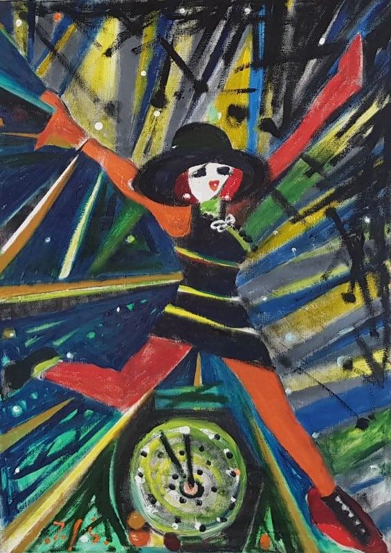 jerzy świątkowski malarstwo olejne