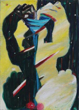 obraz olejny jerzy Å›wiÄ…tkowski