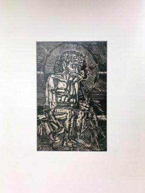 kurkowski litografia jezus