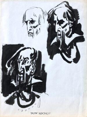 Andrzej Kurkowski - Don Kichote twarze, tusz