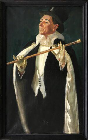 jozef sendecki autoportret malarstwo aukcje sztuki