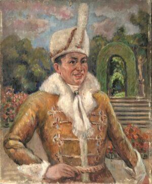 jozef sendecki Autoportret Żupan
