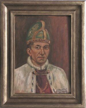 jozef-sendecki- Autoportret jako Doża wenecki