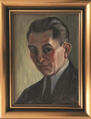 jozef-sendecki-autoportret-olejny