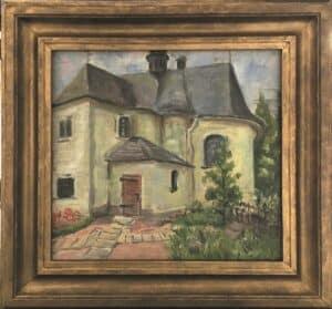 jozef-sendecki- Wejście do Kościoła