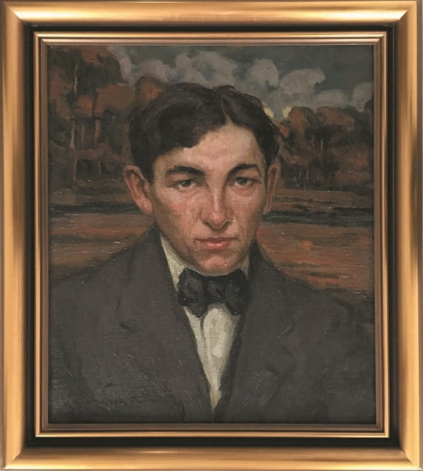 jozef-sendecki-autoportret-obraz-olejny