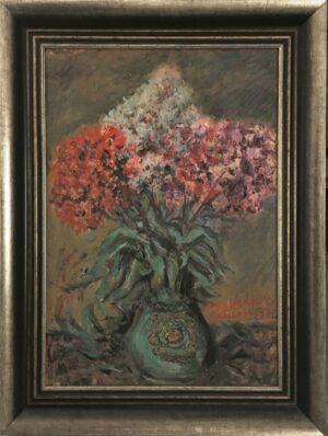 jozef-sendecki-kwiaty-skolimów-olejny