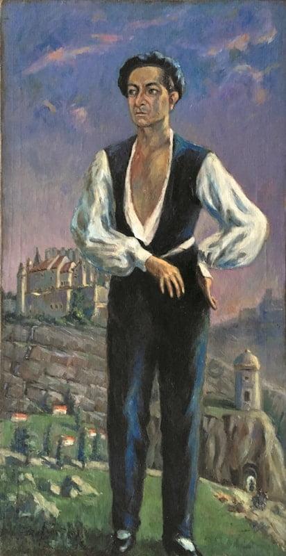 jozef-sendecki-portret-profesora-Wójcikowskiego