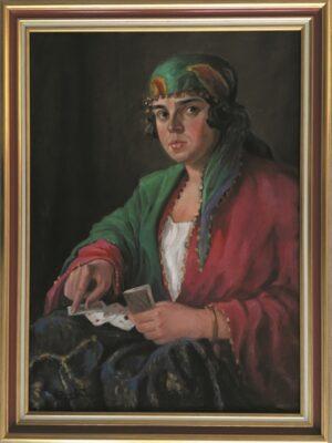 jozef-sendecki-autoportret-cyganka