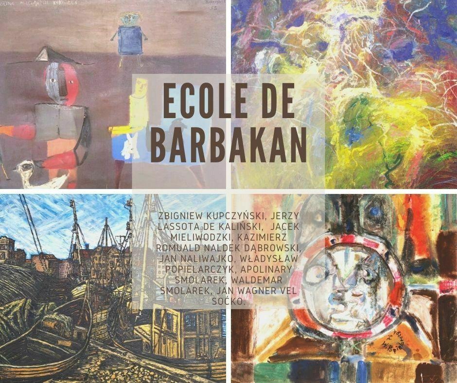 ecole de barbakan artysci malarstwo obrazy