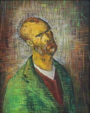 Jacek Mieliwodzki Van Gogh olej, płótno