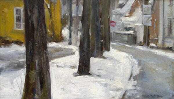 Rajmund Gałecki - Zima na Nowym Mieście