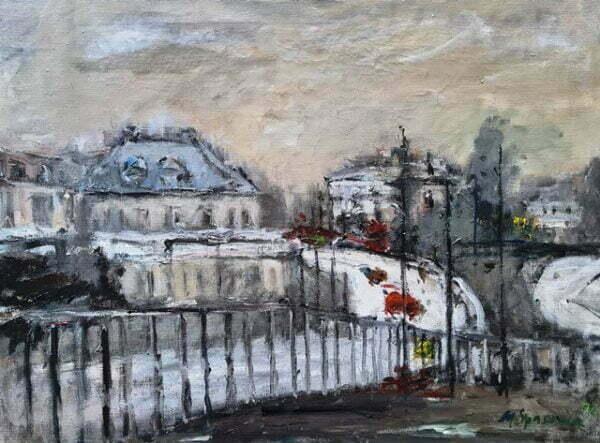 Magdalena Spasowicz obraz olejny